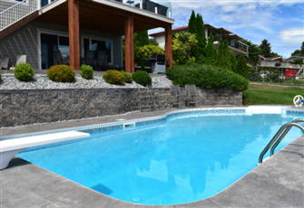 2000 Sq Ft Suite with a Private Pool and a Spectacular View of Okanagan Lake