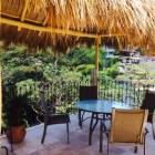 A Nice Dining Area under the New Palapa. This is Indoor / Outdoor Living!