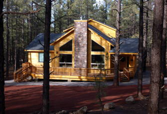 Luxurious Palace Cabin near Williams and the Grand Canyon.