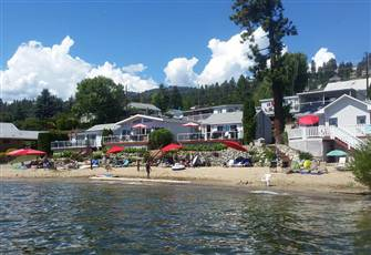 Enjoy a Relaxing Vacation on our Beach Front Cabin Overlooking Lake Okanagan