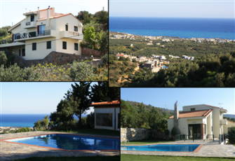 Iliothea Villa Crete at Seaside  Milatos Village ,Private Stay, Swimming Pool