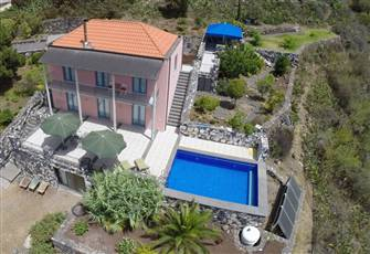 Villa with Pool on Sunny Western Part of Canarian Island La Palma