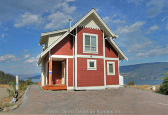 1+1 Bedroom Cottage with Amazing Unobstructed Lake and Mountain Views