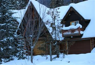 Ski in Log Chalet with Antique Furnishings