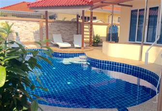 Luxury Holiday Villa Perfect for Family Vacation in Jomtien, Close to Pattaya.