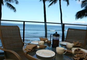 Deluxe Ocean Front Unit at the Mahana at Kaanapali in Maui