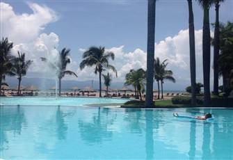 Luxurious Beachfront Condo with Pool and Stunning Views of Puerto Vallarta Bay