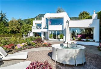 West Vancouver Ocean-View Luxury House
