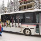 Complimentary Shuttle Buss Runs Loops to/from the Village Every 30 Minutes. Service Available during the Ski Season Only.