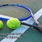 Complimentary Tennis Rackets Provided