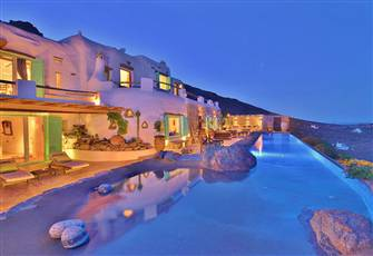 Amazing Views Private Luxurious Villa 4 Bedrooms/5 Bathr Lia Beach Area Mykonos