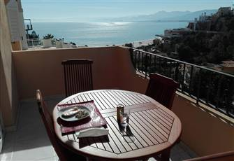 2 Bedrooms Apartment with Sea View and Terrace in Cullera Spain