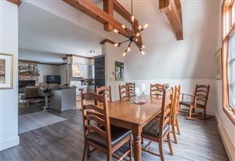 Ski In/Out Condo on South Side of Mont-Tremblant