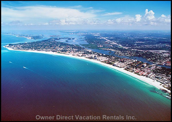 A Five Minute Walk From Siesta Key Beach Voted As One Of The Top Us