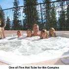 Hot Tub Overlooks Ski Run and Only Steps from the Front Door