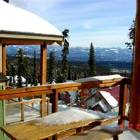 Scenic View of the Monashee Mountains from Sundeck