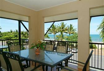 2 bedroom 2 bathroom beachfront apartment with balcony