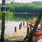 Dock and Canoe