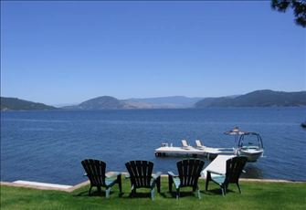 Enjoy your Own Private Beach and Dock on the Westside of Okanagan Lake