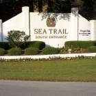 Sea Trail entrance--1 of 3