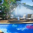 Lodge Swimming Pool, Deck & Bbq