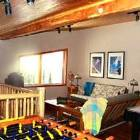 Loft - 2 Queen Size Futon, & Fuse Ball and Air Hockey Tables