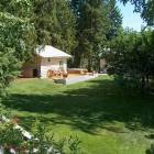 Backyard View Including Fruit Trees/Guest House