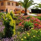 Colorful Gardens of the Villa.