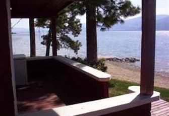 Seclusion Bay Cottages, Private Beachfront on Okanagan Lake