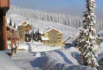 *** Luxury Ski in/out - 3 Bdrms - Private Hot Tub- Fireplace - Wi-Fi ***