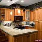 Wow !!!  Beautiful Gourmet Kitchen with Granite Counters
