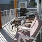 Large Deck W/B.q, and Lots of Seating