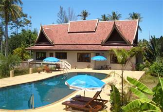A Beautiful Thai Style Villa--with Swimming Pool!