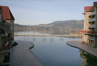 Enjoy Sitting on the Patio Overlooking the Lagoon and Okanagan Lake - Paradise!!
