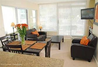Upscale Downtown Vancouver Condo.