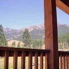 Rocky Mountains from Back Deck