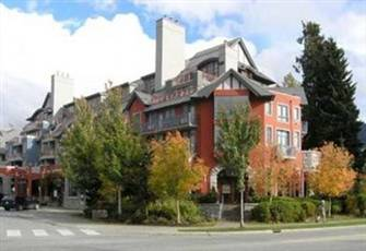 Alpenglow Condo in Whistler Village with balcony, kitchen and fireplace