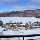 Winter View of Lake  - the Main Tremblant Ski Area is Just a Minutes Drive Away. Free Parking is Available on the Hill by following Signs (about 1 KM from the Hill. a Free Continuous Shuttle Runs from this Parking Area to the Slopes.   an Inexpensive Shuttle Also Runs to and from the Hill Approx Every 30 Mins from the Resort.