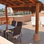 Private Roof Top Solarium with Palapa for Shade