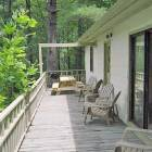 Wrap around Deck to Enjoy Long Range Mountain View