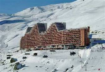 Ski Resort Flat Pyrennees