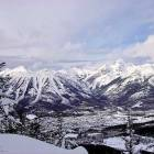 View of Fernie from the Back Country