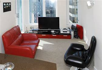 Heart of Downtown Upscale Fully Furnished Stylish 1 BR + Den