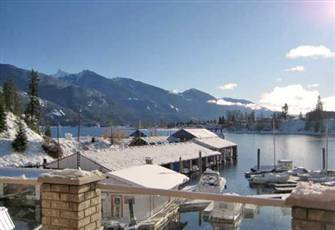 Luxury Condo with Mountain  and  Lake Views in Kaslo on Kootenay Lake B.C.