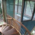 Spiral Stairs & Side View of Monkey Room Level