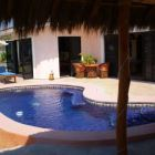 View from Palapa of Pool