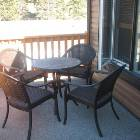 Back Patio with Patio Furniture