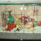 Original Hand Painted Tile Work