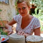 A Beautiful Girl and our Delicious Cheese