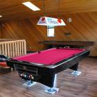 Billiards Room - Pool Table, Darts, Mini Put, Foes Ball, Air Hockey Table, Shuffle/Curling Board Available.